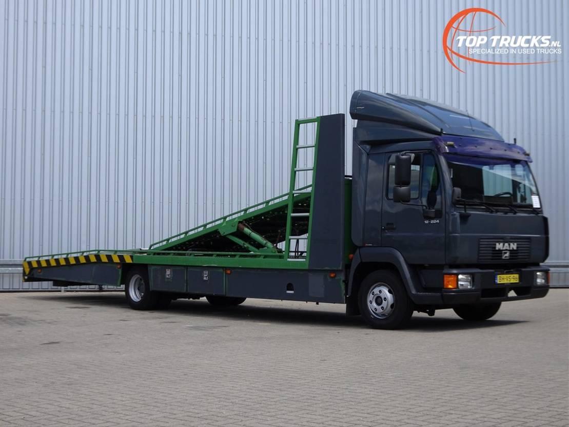 autotransporter vrachtwagen MAN TGL 12.220 TGL 12.220 - Twin deck, doppelstock 2000