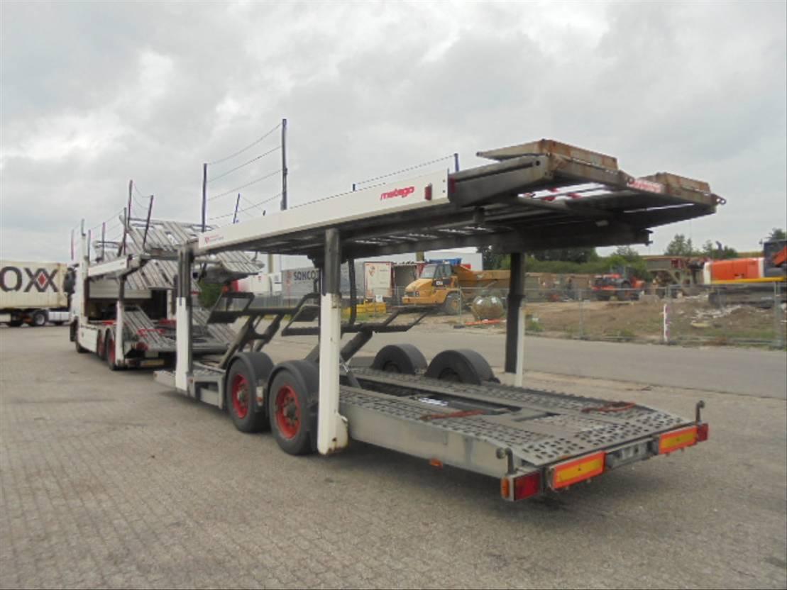 autotransporter vrachtwagen Mercedes-Benz 2536 METAGO KAESBOHRER 2006