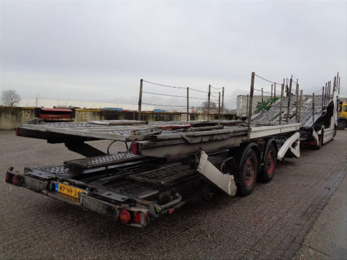 autotransporter vrachtwagen Mercedes-Benz ACTROS 1832 2005