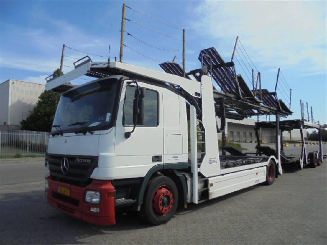 autotransporter vrachtwagen Mercedes Benz ACTROS 1832 LL 2006