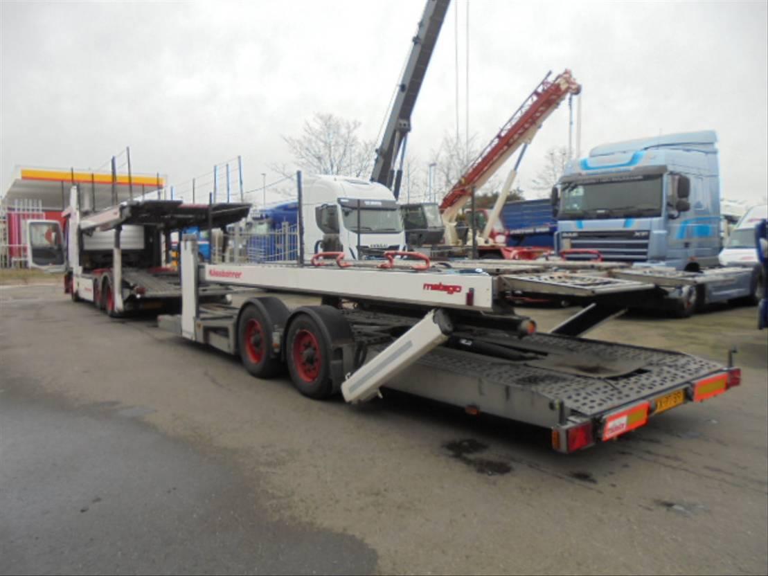 autotransporter vrachtwagen Mercedes-Benz ACTROS 2536 2007