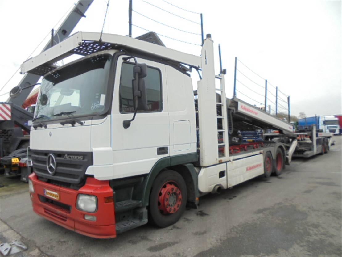 autotransporter vrachtwagen Mercedes Benz ACTROS 2536 2007