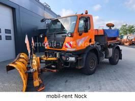 kipper vrachtwagen > 7.5 t Unimog U20/Winterdienst Schild+Streuer/Top Zustand