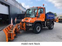 kipper vrachtwagen > 7.5 t Unimog U400/Winterdienst/Top Zustand