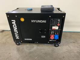 generator Hyundai Aggregaat / Generator, 8 KVA, 230 + 400 volt 2019
