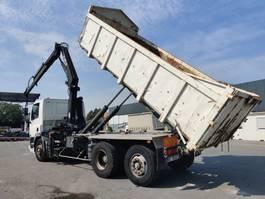 containersysteem vrachtwagen DAF 85.380 6x2 Euro2 crane/grue 1997