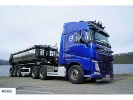 standaard trekker Volvo FH540 w / 2016 Carnehl asphalt semi 2015