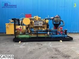 generator Caterpillar G3508 G3508 Aggregate Generator V8 Gas Engine 1997