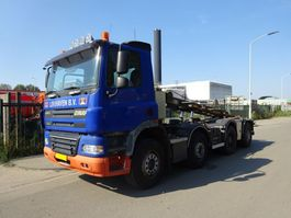 containersysteem vrachtwagen Ginaf X 4241 S 8X4 EURO 5 / NCH KABEL 30 TONS  / MANUAL GEARBOX !! 2009
