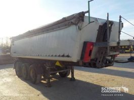 kipper oplegger Schmitz Cargobull Tipper Alu-square sided body 24m³ 2008