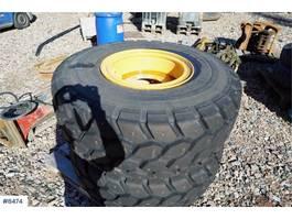 uitrusting overig 2 pcs. rims with tires for Volvo L60H wheel loader