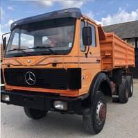 kipper vrachtwagen > 7.5 t Mercedes Benz 2626 AK 6X6 meiller tipper - perfect 1980