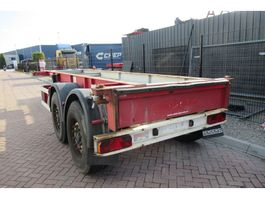 container chassis oplegger Renders 20 FT chassis / Disc brakes 2000