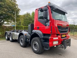 containersysteem vrachtwagen Iveco AD 410T 8x4 euro 6 2014