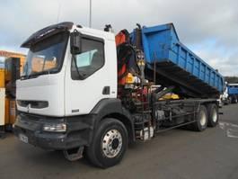 open laadbak vrachtwagen Renault Kerax 2002