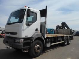 open laadbak vrachtwagen Renault Kerax 2003