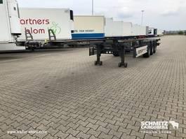 overige vrachtwagen aanhangers Schmitz Cargobull Container chassis Gooseneck 2013