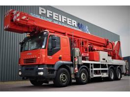 autohoogwerker vrachtwagen Multitel J2-365 TA 8x4x4 Drive, 66m Working Height, 33m Rea 2007