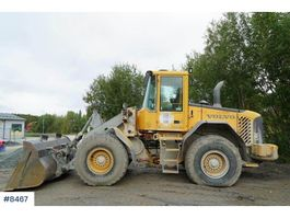wiellader Volvo L70E with lever steering 2004
