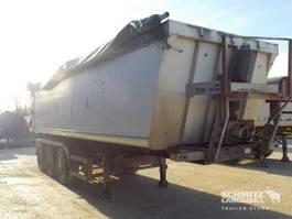 kipper oplegger Schmitz Cargobull Tipper Alu-square sided body 2005