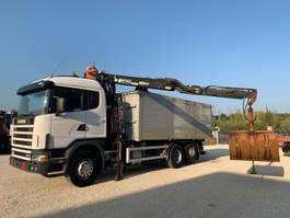 kipper vrachtwagen > 7.5 t Scania 164.480 V8 2003