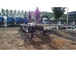 container chassis oplegger Kaessbohrer SHG.AVH / 45-12 / 27 2020