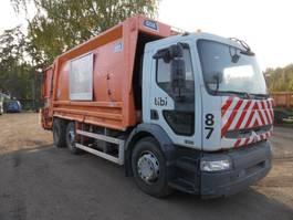 vuilkar camion Renault vuilniswagen 320 DCI 6x2 2006