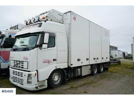 bakwagen vrachtwagen > 7.5 t Volvo FH12 460 box truck with rear lift 2004