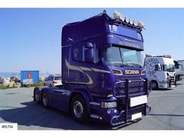 standaard trekker Scania R580 Euro 6 w / Tip hydraulics 2014