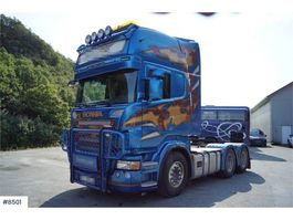 standaard trekker Scania R620 6x4 Truck with tipping hydraulics WATCH VIDEO 2009