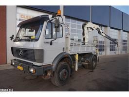 kraanwagen Mercedes Benz 1722 AK 4x4 Pesci 19 ton/meter laadkraan 1991