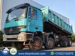 kipper vrachtwagen > 7.5 t Mercedes Benz ACTROS 4140 8x8 meiller manual 1998