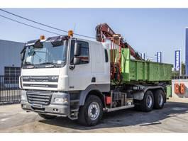 containersysteem vrachtwagen DAF CF85.410 + GUIMA +BENNE amovible+ GRUE FASSI 110XA21 2009