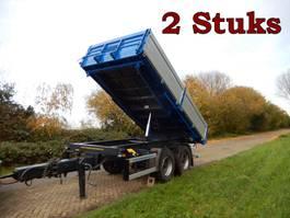 kipper aanhanger Kögel ZK18 2 x 3 Zijdige Kipper WD-ZR-22 & WV-33-NF, 2 Stuks