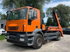 containersysteem vrachtwagen Iveco Magrius Blatt/Luft Atumatik reifen 80% 2004