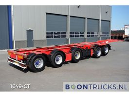 container chassis oplegger Broshuis 2CONNECT-5AKCC | 4 x LIFT AXLE * 3 x STEERING AXLE 2007