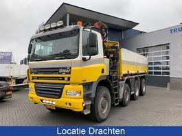 kipper vrachtwagen > 7.5 t Ginaf X 4343 LS Hydraulische kipper + Palfinger kraan 2009