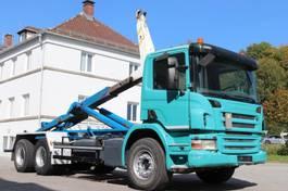 wissellaadbaksysteem vrachtwagen Scania P380 6x4 Euro4 Manuell Leasing 2007