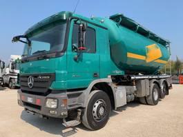 tankwagen vrachtwagen Mercedes Benz Actros 2544 2008