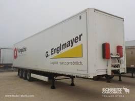 gesloten opbouw oplegger Krone Dryfreight Mega Double deck Roller shutter door 2012