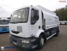 tankwagen vrachtwagen Renault Midlum 270 4x2 fuel tank 13.6 m3 / 4 comp 2003