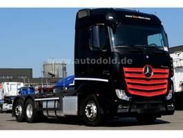 wissellaadbaksysteem vrachtwagen Mercedes Benz MB 2545L BDF 6x2 Unterfaltbare LBW Retarder 2014