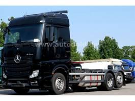 wissellaadbaksysteem vrachtwagen Mercedes Benz MB 2545L 6x2 BDF 2xTank Retarder Liftachse 2016