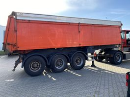 kipper oplegger ATM ATM isolated tipper with hydraulic aluminium roof 2004