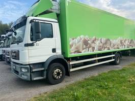 koelwagen vrachtwagen MAN TGM 15.290 Kühlkoffer 4x2 Euro5 LBW 2011