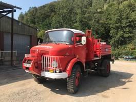 brandweerwagen vrachtwagen Mercedes Benz MB911 1980