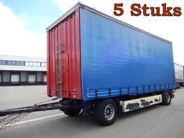 schuifzeil aanhanger Krone 5 Stuks, 2 As Vrachtwagen Aanhangwagen Schuifzeil, 25-WB-TD, 49-WB-HS, 5... 2008