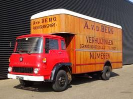 bakwagen vrachtwagen Bedford COLLECTOR'S ITEM / OLD-TIMER / WOODEN STRUCTURE 1971