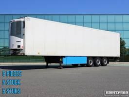 koel-vries oplegger Schmitz Cargobull SKO 24/L FRIGO TRAILER THERMO KING SLX300  LIFT AXLE SAF AXLES 5 PIECES!! 2011