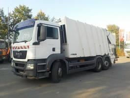 vuilniswagen vrachtwagen MAN TGS 26.320 6x2-2 LL Müllwagen 2010